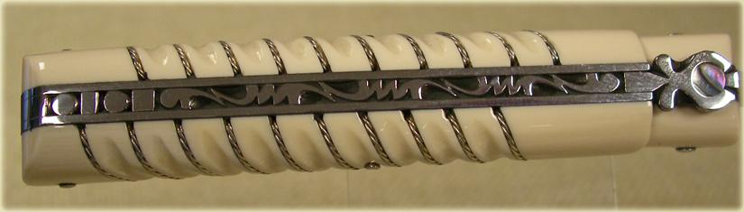 guillochage-ciselure-couteau